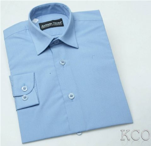 Regular Shirt Blue